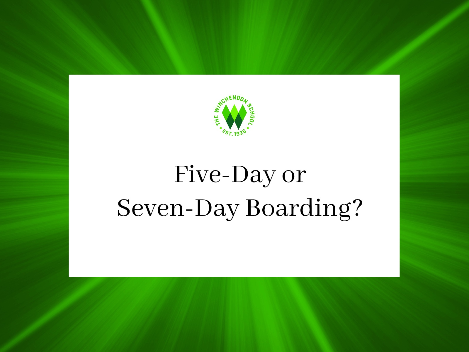 5 or 7 day boarding-1
