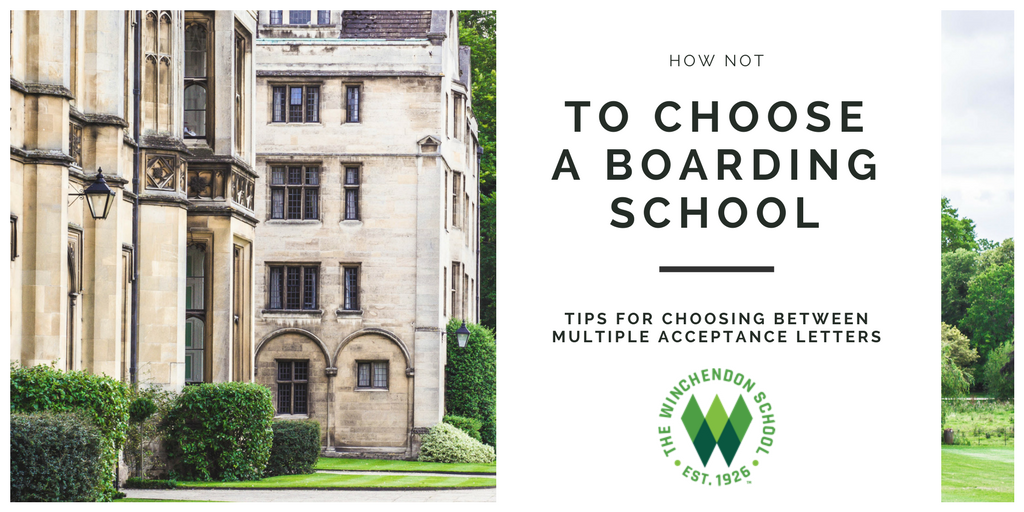 how not to choose a boarding school